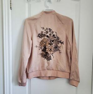 EUC Embroidered Bomber Jacket